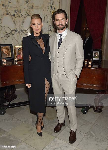 Blake Lively and Michiel Huisman attend The Age of Adaline premiere after party at The Metropolitan Club on April 19 2015 in New York City