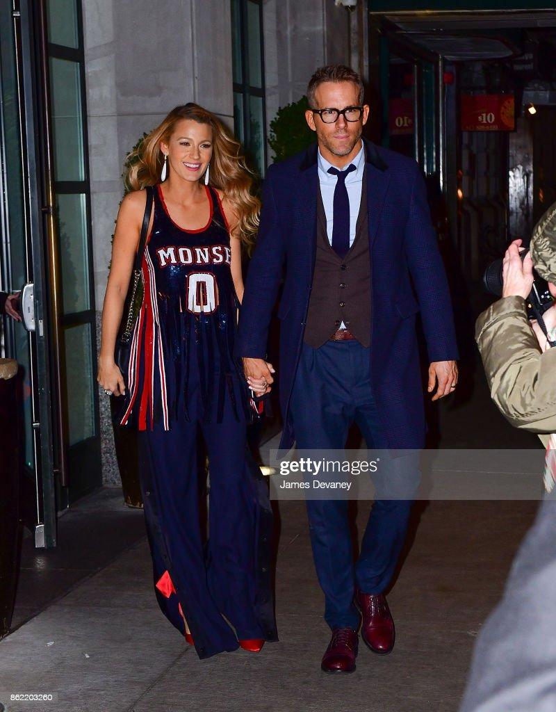 Celebrity Sightings in New York City - October 16, 2017 : News Photo