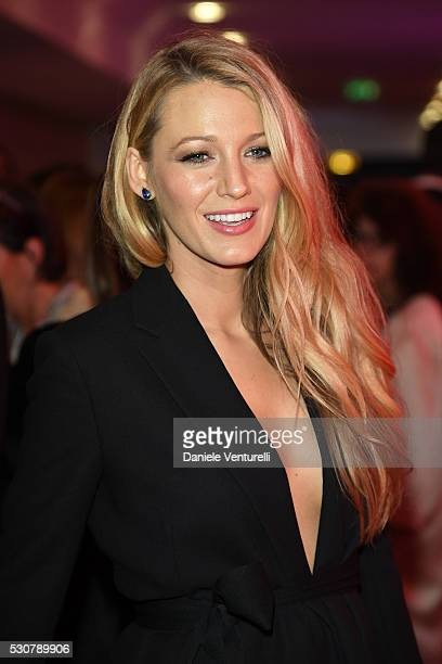 Blake Lively arrive at the Opening Gala Dinner during The 69th Annual Cannes Film Festival on May 11 2016 in Cannes