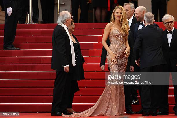 Blake Lively arrives at 'Cafe Society' Opening Gala of the 69th Annual Cannes Film Festival on May 11 2016 in Cannes