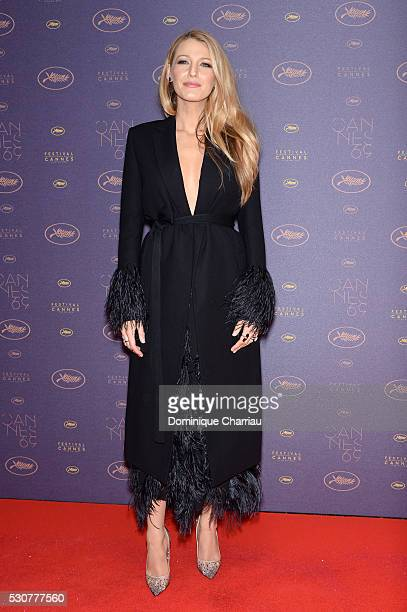 Blake Lively arrives at the Opening Gala Dinner during The 69th Annual Cannes Film Festival on May 11 2016 in Cannes France