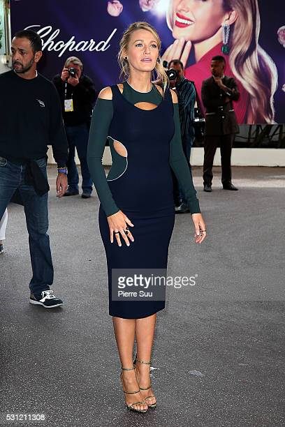 Blake Lively at The Martinez Hotell during the 69th Annual Cannes Film Festival on May 13 2016 in Cannes France