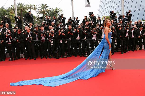 Blake Lively attends a screening of The BFG at the annual 69th Cannes Film Festival at Palais des Festivals on May 14 2016 in Cannes France