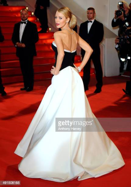 Blake Lively attends Captives Premiere at the 67th Annual Cannes Film Festival on May 16 2014 in Cannes France