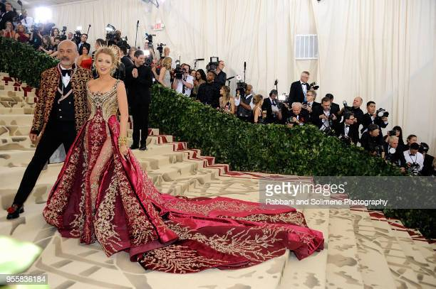 Blake Lively attends Heavenly Bodies Fashion The Catholic Imagination Costume Institute Gala at the Metropolitan Museum of Art in New York City