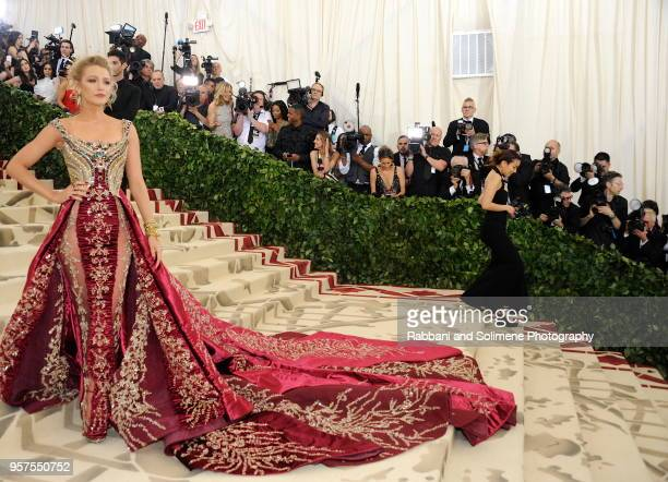 Blake Lively attends Heavenly Bodies Fashion The Catholic Imagination Costume Institute Gala a the Metropolitan Museum of Art in New York City