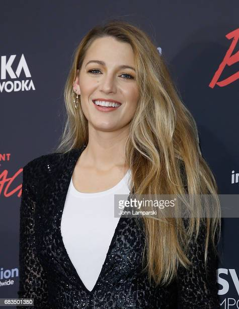 Blake Lively attends 'Paint It Black' New York premiere at the Museum of Modern Art on May 15 2017 in New York City