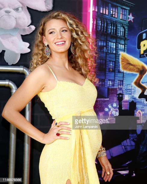 Blake Lively attends Pokemon Detective Pikachu US Premiere at Times Square on May 02 2019 in New York City