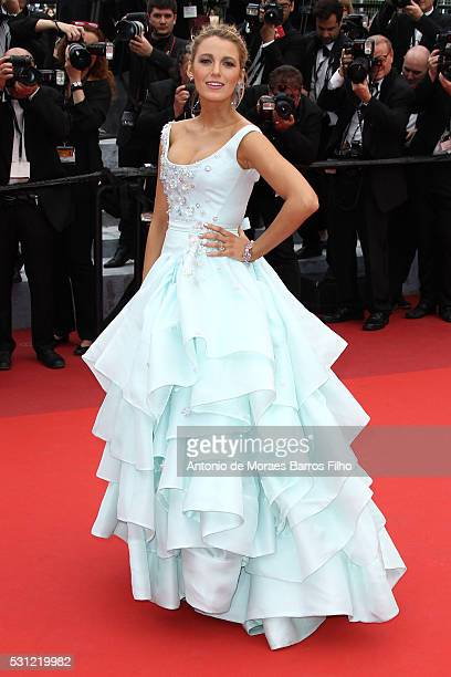 Blake Lively attends 'Slack Bay ' premier during the 69th Annual Cannes Film Festival on May 13 2016 in Cannes