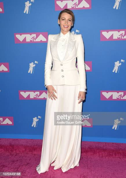Blake Lively attends the 2018 MTV Video Music Awards at Radio City Music Hall on August 20 2018 in New York City