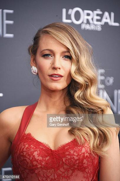 Blake Lively attends 'The Age of Adaline' premiere at AMC Loews Lincoln Square 13 theater on April 19 2015 in New York City