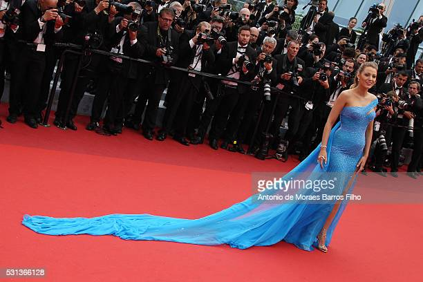 """Blake Lively attends """"The BFG"""" premier during the 69th Annual Cannes Film Festival on May 14, 2016 in Cannes, ."""