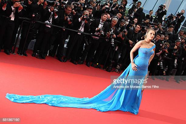 Blake Lively attends The BFG premier during the 69th Annual Cannes Film Festival on May 14 2016 in Cannes