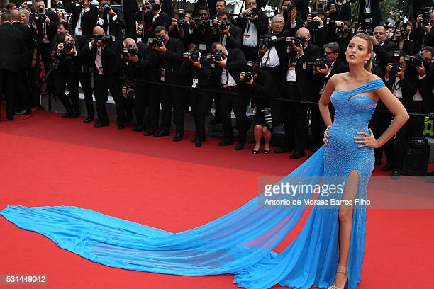 Blake Lively attends 'The BFG' premier during the 69th Annual Cannes Film Festival on May 14 2016 in Cannes