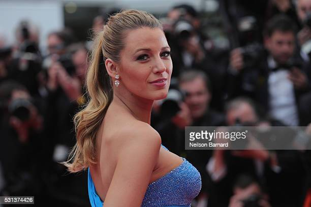 Blake Lively attends 'The BFG ' premiere during the 69th annual Cannes Film Festival at the Palais des Festivals on May 14 2016 in Cannes France