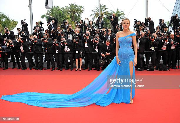 Blake Lively attends 'The BFG' premiere during The 69th annual Cannes Film Festival on May 14 2016 in Cannes France