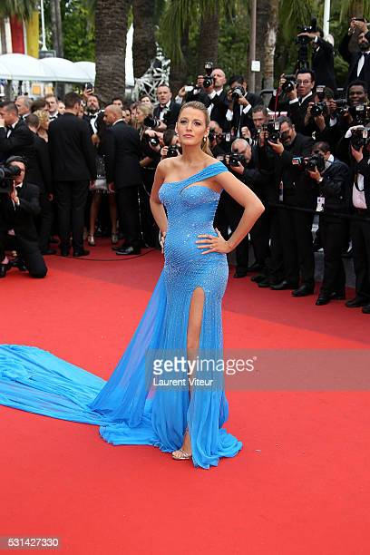 Blake Lively attends 'The BFG ' premiere during the 69th annual Cannes Film Festival at the Palais des Festivals on May 14 2016 in Cannes