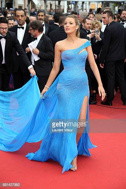 Blake Lively attends 'The BFG ' premiere during the 69th annual Cannes Film Festival at the Palais des Festivals on May 14, 2016 in Cannes, .