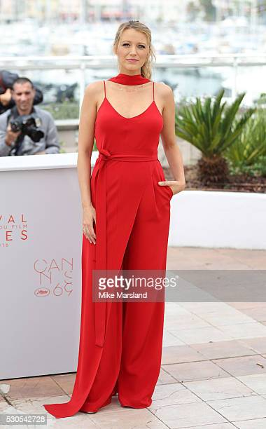 Blake Lively attends the 'Cafe Society' Photocall during The 69th Annual Cannes Film Festival on May 11 2016 in Cannes France