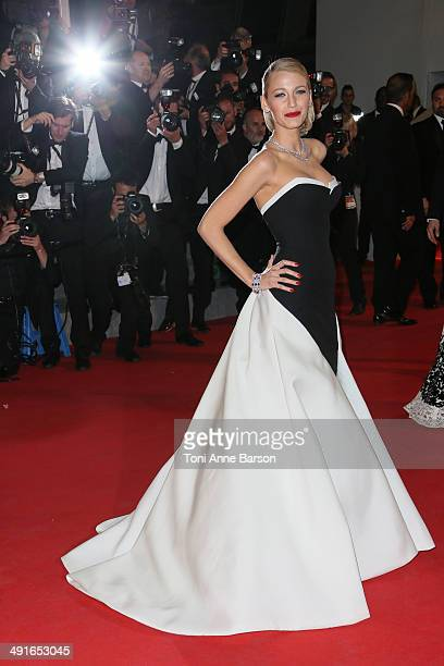 """Blake Lively attends """"The Captive"""" Premiere at the 67th Annual Cannes Film Festival on May 16, 2014 in Cannes, France."""
