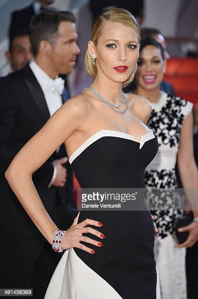 Blake Lively attends the Captives Premiere at the 67th Annual Cannes Film Festival on May 16 2014 in Cannes France