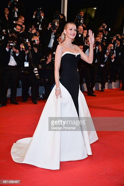 Blake Lively attends the 'Captives' Premiere at the 67th Annual Cannes Film Festival on May 16 2014 in Cannes France