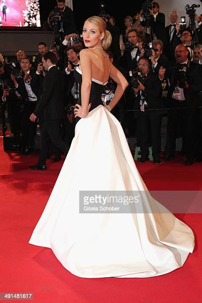 """Blake Lively attends the """"Captives"""" premiere during the 67th Annual Cannes Film Festival on May 16, 2014 in Cannes, France."""
