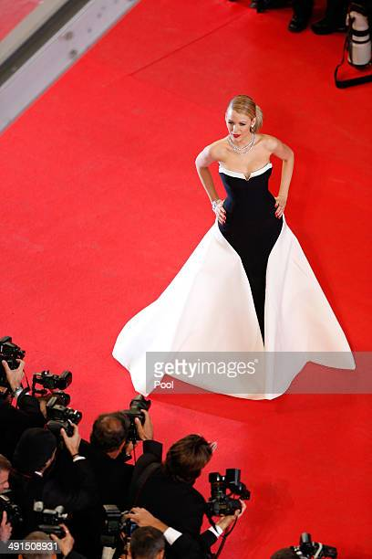 Blake Lively attends the 'Captives' premiere during the 67th Annual Cannes Film Festival on May 16 2014 in Cannes France