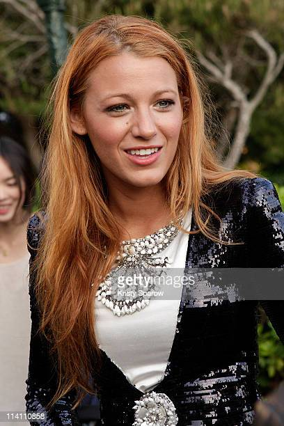 Blake Lively attends the Chanel 'Collection Croisiere Show 2011/12' at Hotel du Cap on May 9 2011 in Cap d'Antibes France