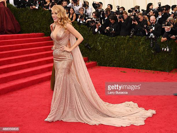 Blake Lively attends the Charles James Beyond Fashion Costume Institute Gala at the Metropolitan Museum of Art on May 5 2014 in New York City