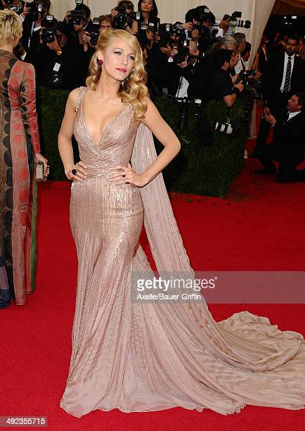 Blake Lively attends the 'Charles James Beyond Fashion' Costume Institute Gala at the Metropolitan Museum of Art on May 5 2014 in New York City