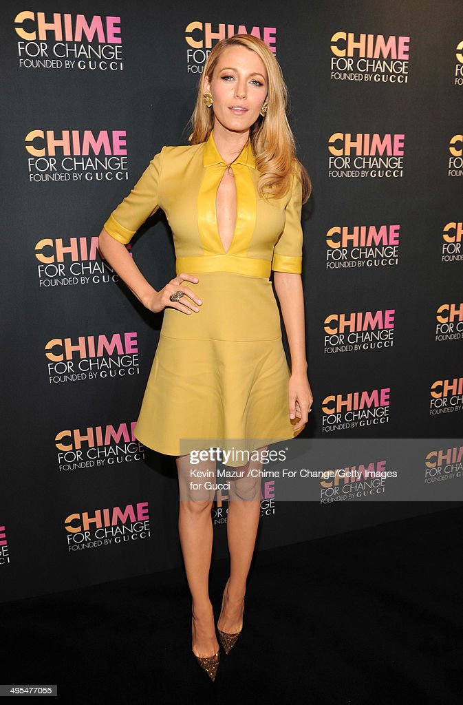 CHIME FOR CHANGE One-Year Anniversary Event Hosted By Gucci Creative Director Frida Giannini And T Magazine Editor-In-Chief Deborah Needleman - Arrivals : News Photo