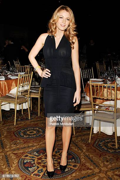 Blake Lively attends The Fashion Group International 'NIGHT OF STARS' 2008 Gala The Alchemists at Cipriani Wall Street on October 23 2008 in New York...
