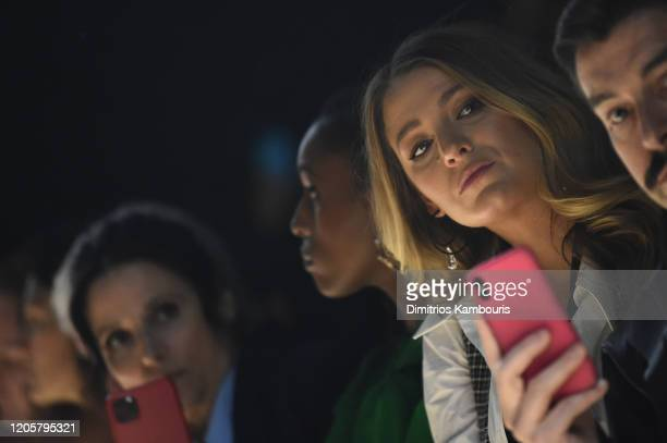 Blake Lively attends the Michael Kors FW20 Runway Show on February 12 2020 in New York City