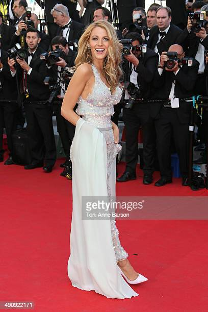 """Blake Lively attends the """"Mr Turner"""" Premiere at the 67th Annual Cannes Film Festival on May 15, 2014 in Cannes, France."""