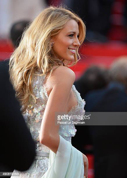 """Blake Lively attends the """"Mr Turner"""" premiere during the 67th Annual Cannes Film Festival on May 15, 2014 in Cannes, France."""