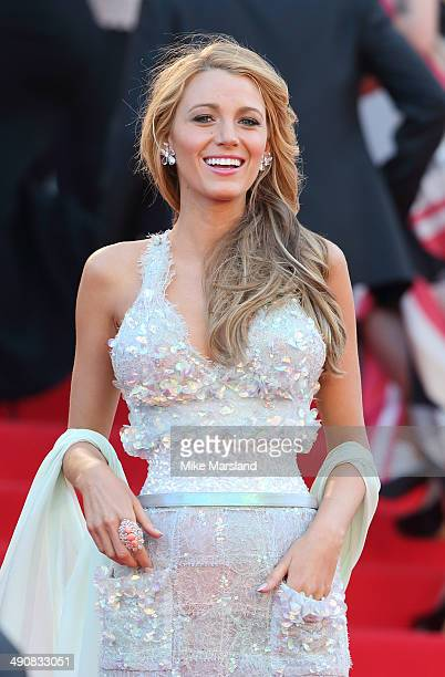 """Blake Lively attends the """"Mr.Turner"""" Premiere at the 67th Annual Cannes Film Festival on May 15, 2014 in Cannes, France."""