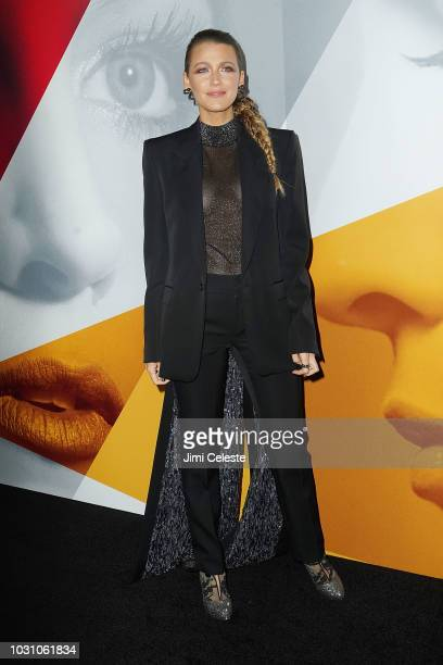 Blake Lively attends the New York premiere of A Simple Favor at Museum of Modern Art on September 10 2018 in New York City