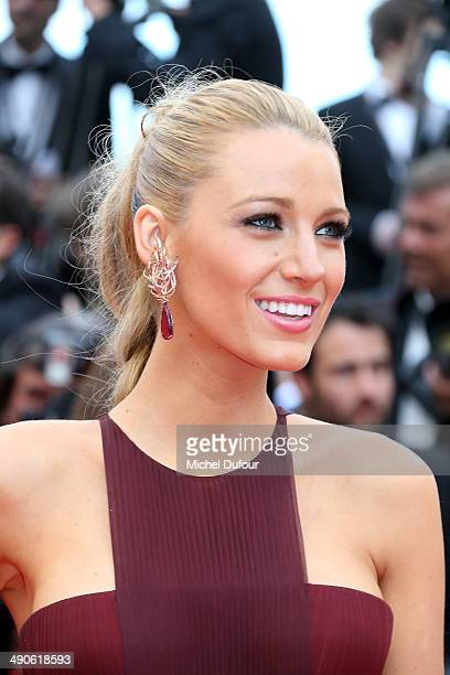 Blake Lively attends the Opening ceremony and Premiere of 'Grace of Monaco' at the 67th Annual Cannes Film Festival on May 14 2014 in Cannes France