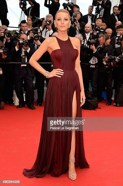 Blake Lively attends the Opening ceremony and the 'Grace of Monaco' Premiere during the 67th Annual Cannes Film Festival on May 14 2014 in Cannes...