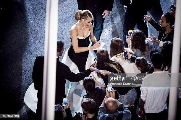 """Blake Lively attends the Premiere of """"Captives"""" at the 67th Annual Cannes Film Festival on May 16, 2014 in Cannes, France."""