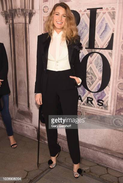 Blake Lively attends the Ralph Lauren 50th Anniversary event during New York Fashion Week at Bethesda Terrace on September 7 2018 in New York City