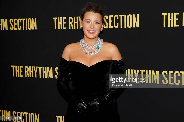 Blake Lively attends The Rhythm Section New York Screening at Brooklyn Academy of Music on January 27 2020 in New York City