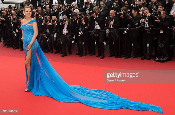 Blake Lively attends the screening of The BFG at the annual 69th Cannes Film Festival at Palais des Festivals on May 14 2016 in Cannes France