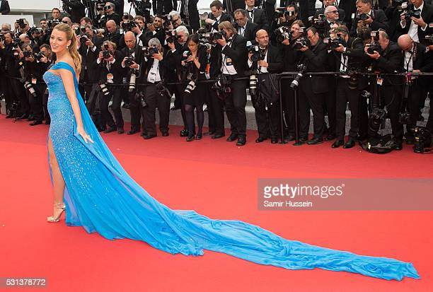 "Blake Lively attends the screening of ""The BFG ""- at the annual 69th Cannes Film Festival at Palais des Festivals on May 14, 2016 in Cannes, France."