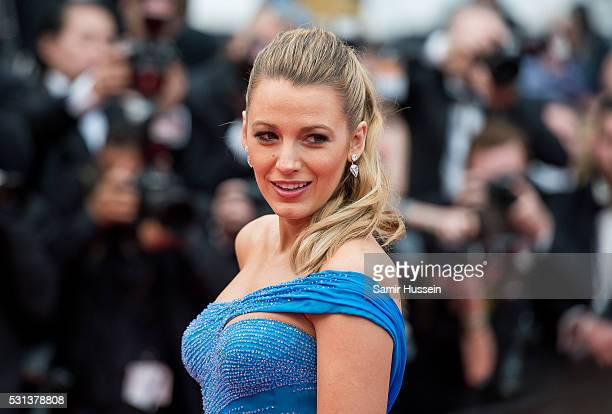 Blake Lively attends the screening of 'The BFG ' at the annual 69th Cannes Film Festival at Palais des Festivals on May 14 2016 in Cannes France