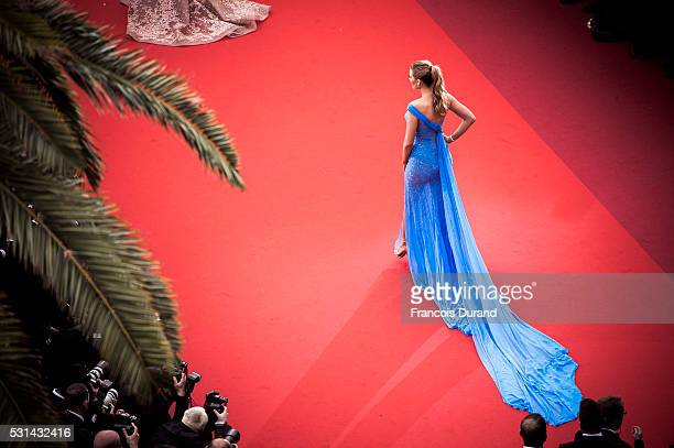 Blake Lively attends the screening of 'The BFG' at the annual 69th Cannes Film Festival at Palais des Festivals on May 14 2016 in Cannes France
