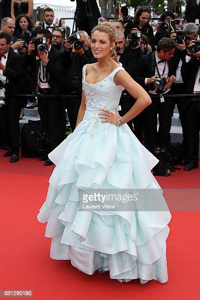 Blake Lively attends the 'Slack Bay ' premiere during the 69th annual Cannes Film Festival at the Palais des Festivals on May 13 2016 in Cannes