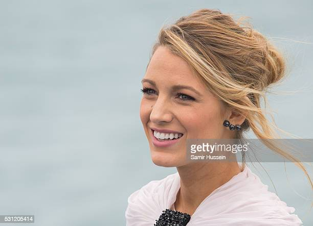 Blake Lively attends the 'The Shallows' photocall at the annual 69th Cannes Film Festival at Palais des Festivals on May 13 2016 in Cannes France