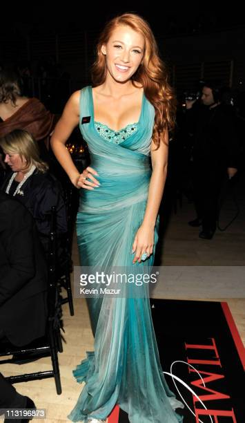 Blake Lively attends the TIME 100 Gala, TIME'S 100 Most Influential People In The World at Frederick P. Rose Hall, Jazz at Lincoln Center on April...